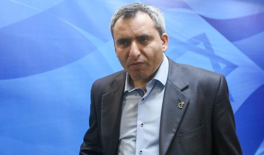 שר הבינוי והשיכון, זאב אלקין (צילום: מרק ישראל סלם)