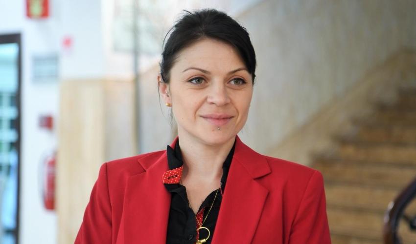 אנה לוין (צילום: ראובן כהן, דוברות עיריית חיפה)