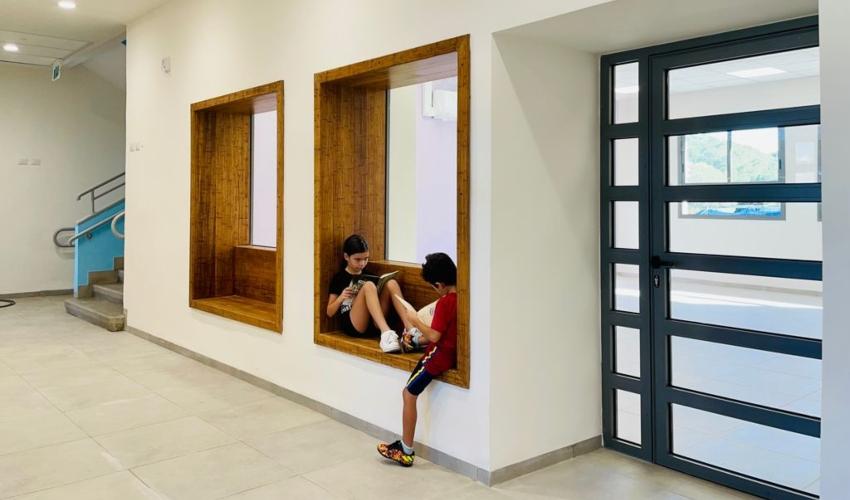 בית הספר דוד ילין (צילום: אופיר זאבי אדריכלים)