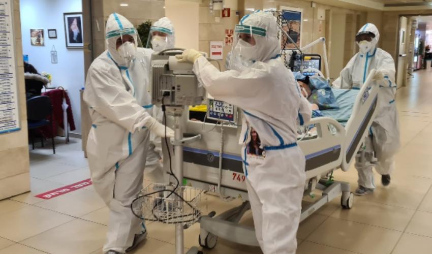 במרכז הרפואי כרמל נפתחה מחדש מחלקת הקורונה (צילום: דוברות המרכז הרפואי כרמל)