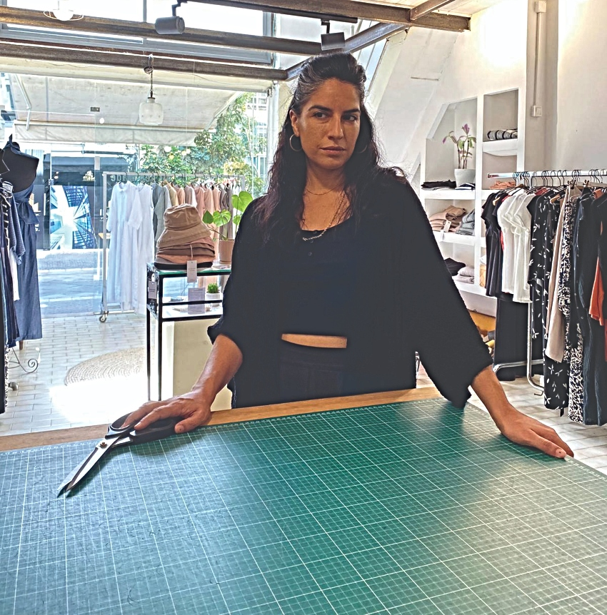הילה שמש,מעצבת אופנה (צילום: עופרי אזולאי)