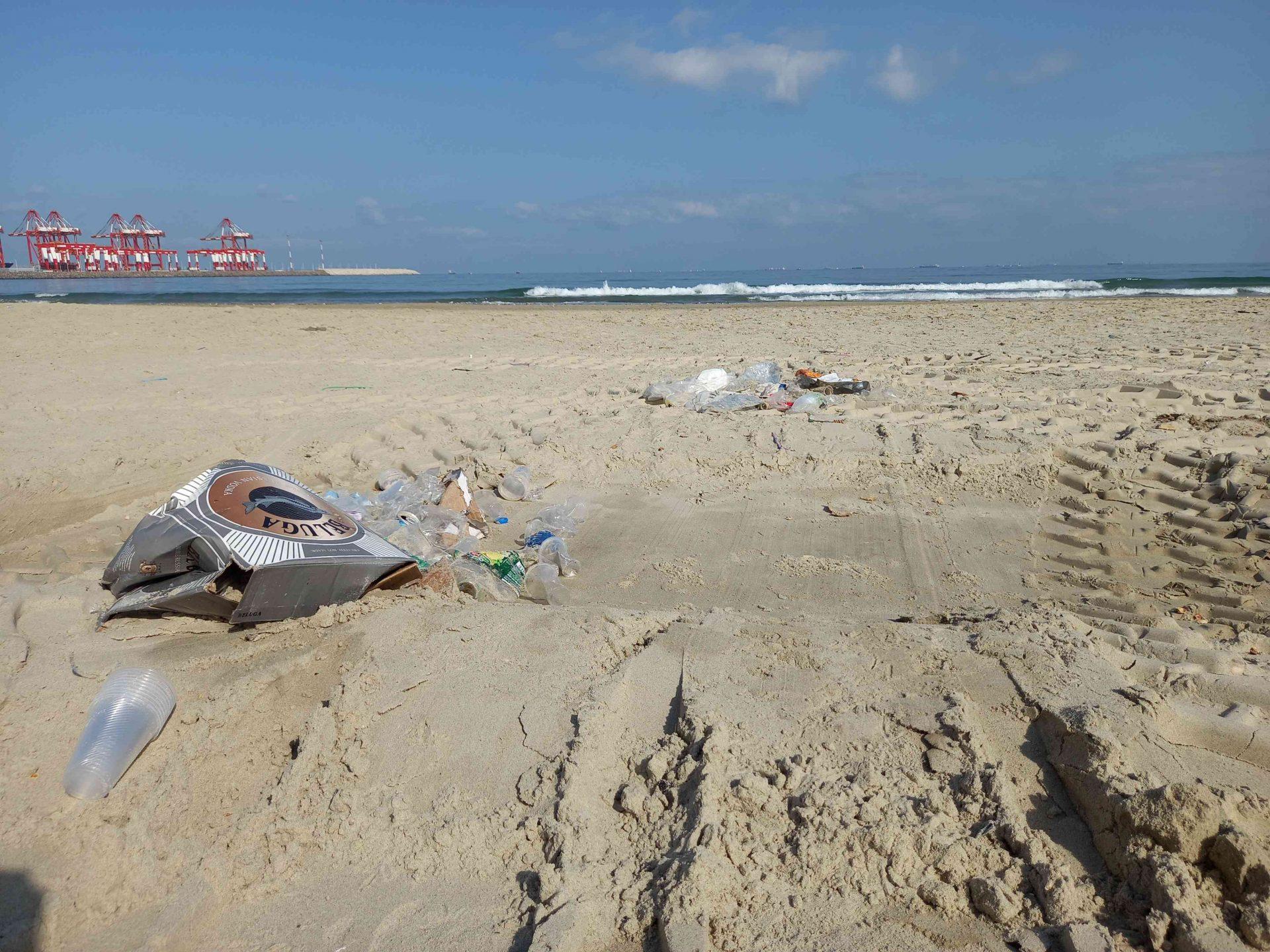 חוף קריית חיים דרום. צילום: יעל שי