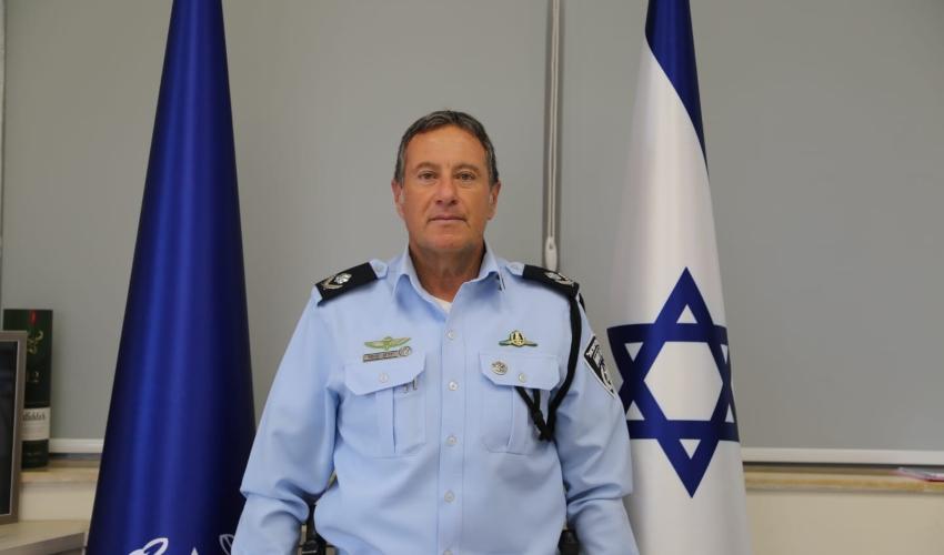 מפקד מחוז חוף, ניצב יורם סופר (צילום: דוברות המשטרה)