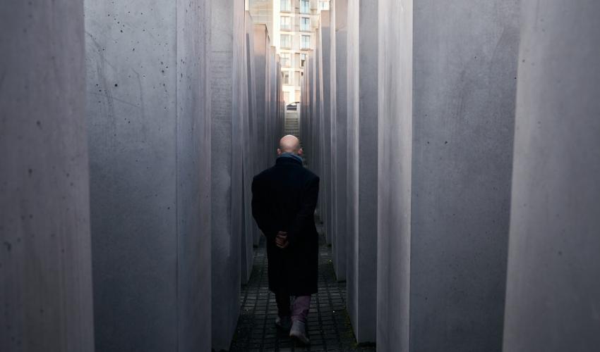 """""""השיבה לברלין"""" (צילום: דוד זריף)"""