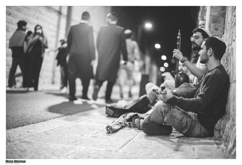 """""""סליחות"""" בכותל, ערב יום הכיפורים תשפ""""ב (צילום: מיכה בריקמן)"""