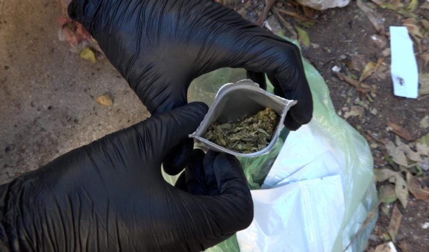 הסם שנתפס אצל אחד החשודים (צילום: דוברות המשטרה)