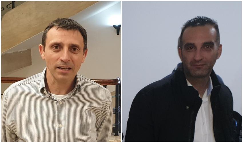 רותם פרנקל ואלי בן דיין (צילום: בועז כהן)