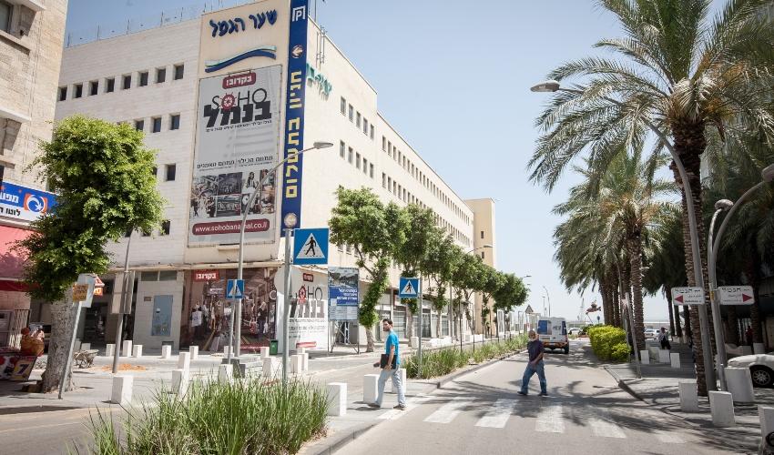 רחוב שער פלמר-הנמל (צילום: אייל טואג)