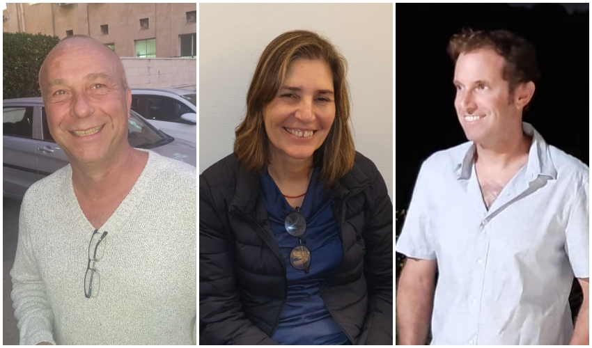 מימין: איתן קרבצ'יק (צילום: עצמי), אורנה אנג'ל ואמיר נפתלי (צילומים: בועז כהן)