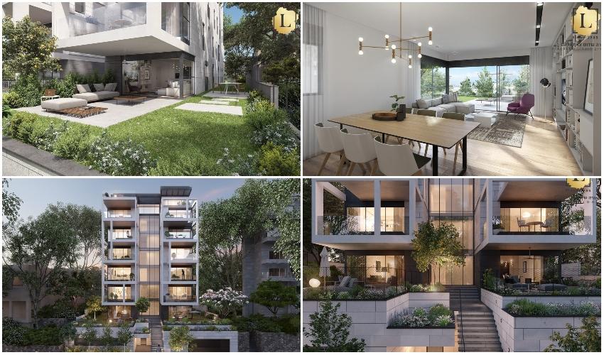 """דירה יפהפייה בבלעדיות בפרויקט M11 היוקרתי ברחוב מרגלית (הדמיות: אורי קיטה ל""""טרה יזמות"""")"""