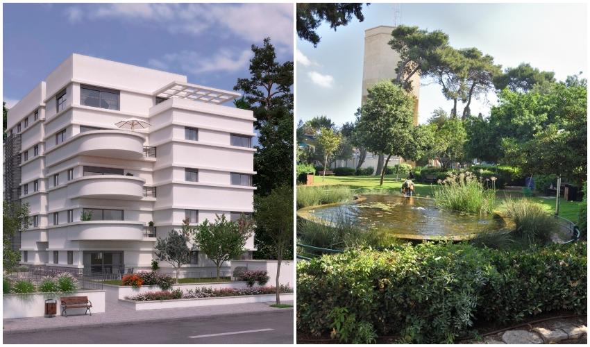 """דירת 5 חדרים, 133 מ""""ר, טובלת בירק, בכרמל הוותיק (צילום: איציק סגל, הדמיה: קריסטל גרפיקס)"""