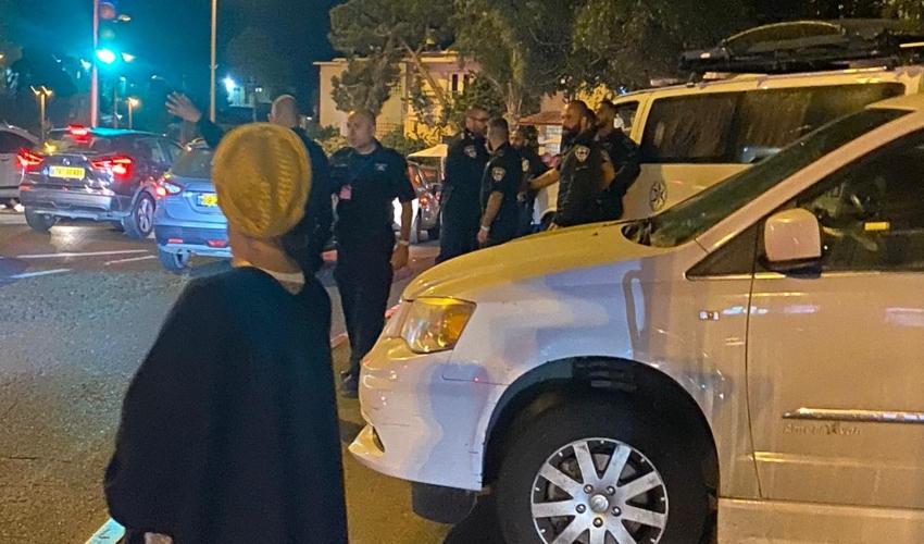 """בנט חוגג שבת חתן. כוחות יס""""מ ומשטרה במרכז חורב"""